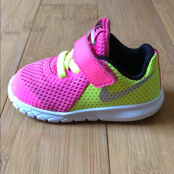 6b9480af0f Nike Shoes | Flex Experience 5 Shoe Pink Toddler Girls | Poshmark